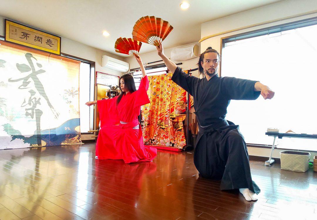 武楽座 グループ稽古/体験 | 武楽(ぶがく)-BUGAKU- | Samurai Art